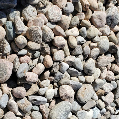 a photo of small river rock